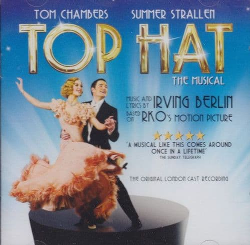 Tom Chambers , Summer Strallen<br>Top Hat The Musical<br>CD